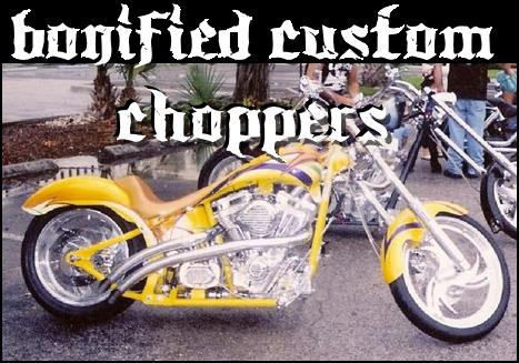 Bonified Customs Premier Custom chopper